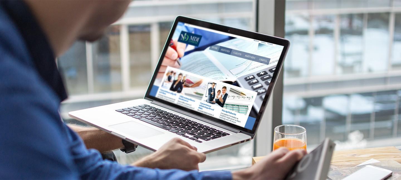 Уеб сайт на МДИ консулт