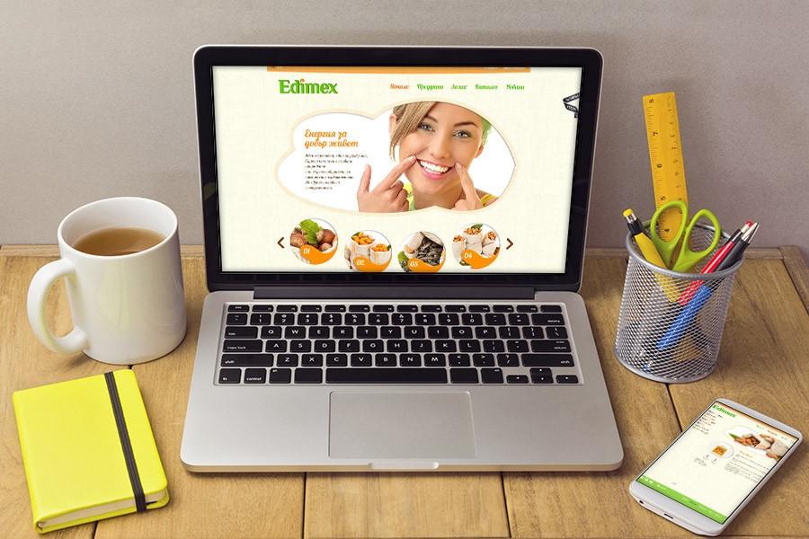 Уеб сайт на Едимекс
