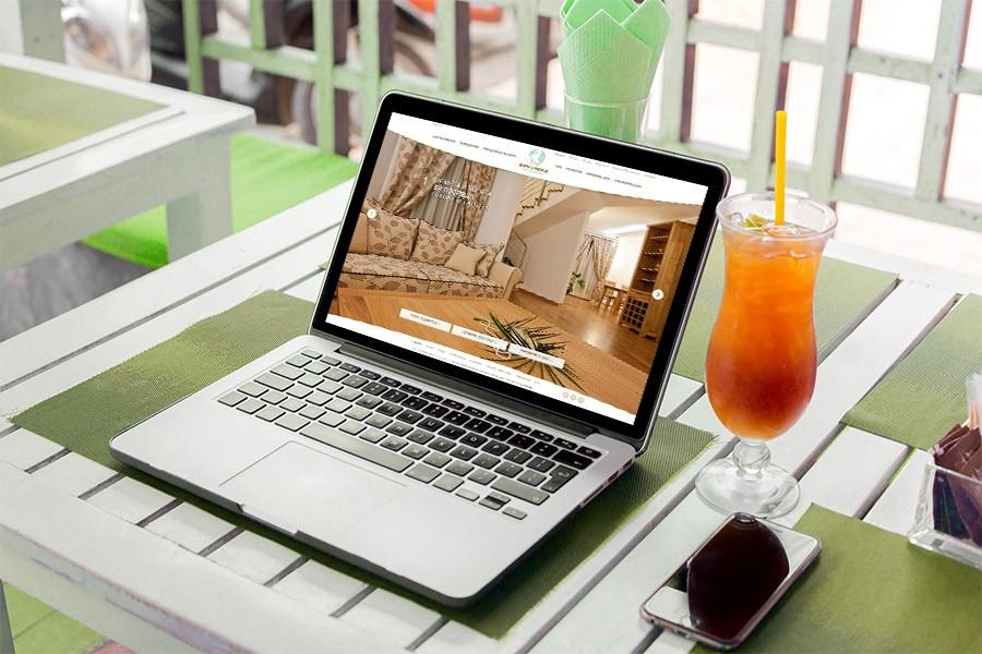 Изработка на уеб сайт за хотел Земята и хората
