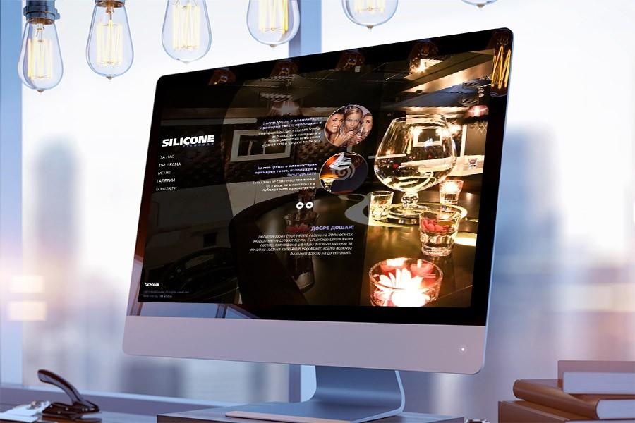 Уеб сайт на пиано бар Силикон