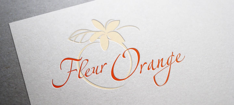 Лого дизайн на Фльор оранж