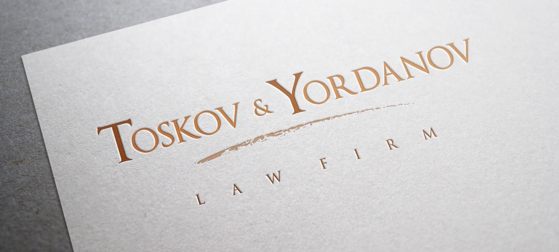 Лого дизайн на Тосков и Йорданов