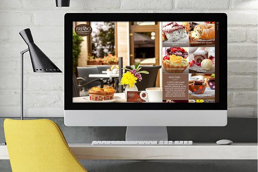 Уеб сайт на сладкарница Фредо