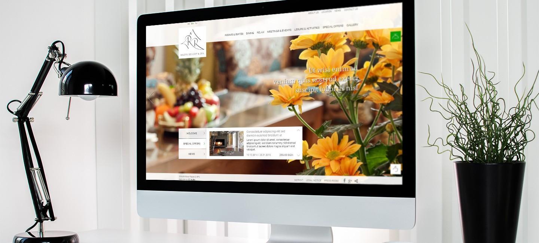 Уеб сайт на хотел Рилец
