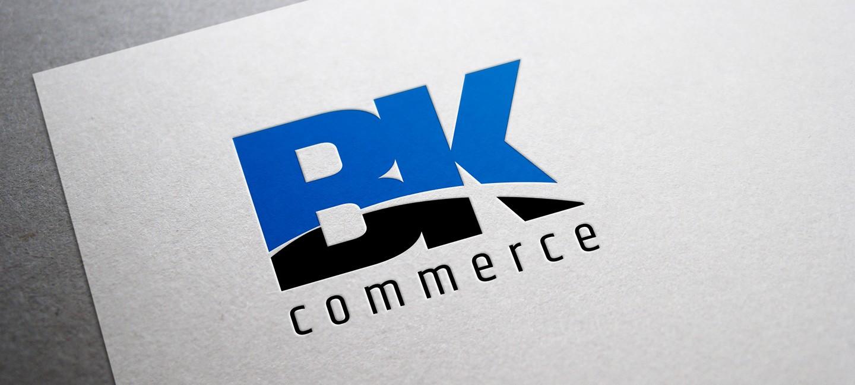 Лого дизайн на Би Кей Комерс