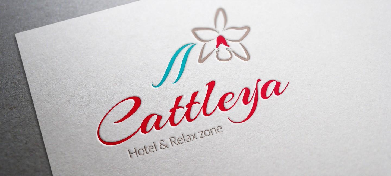 Лого дизайн на хотел Катлея