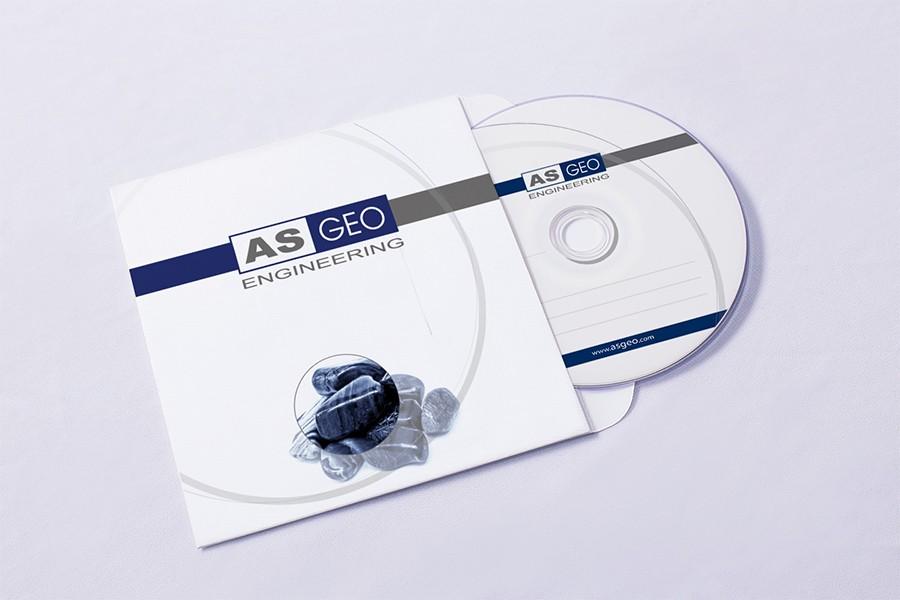 Дизайн на CD за АС Геоинженеринг