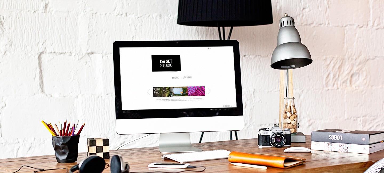 Уеб сайт на Сет Студио