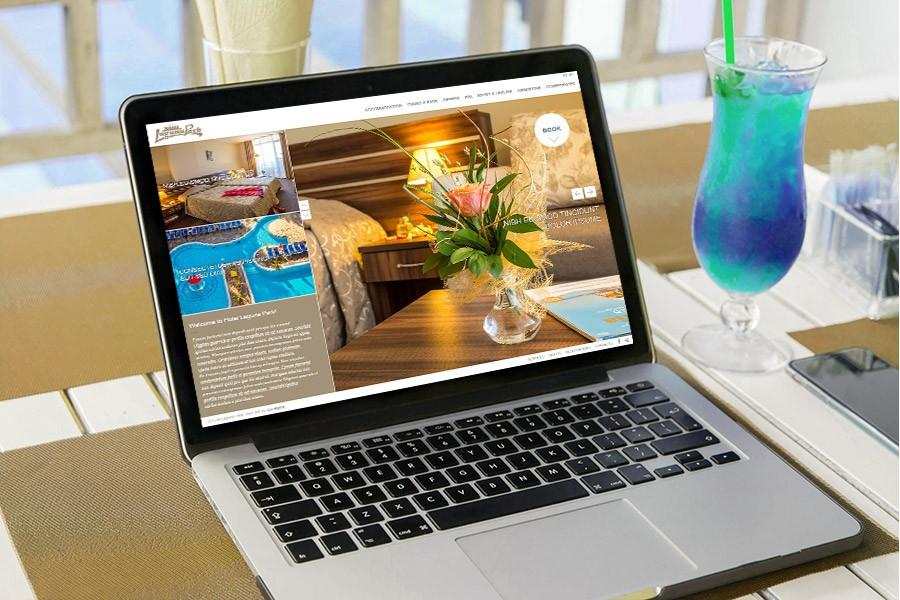 Нов, модерен, интересен уеб сайт за хотел Лагуна (еп. 2)