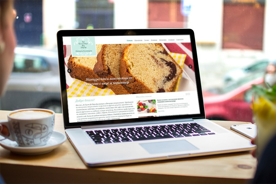Уеб дизайн за ръчно изработени сладкиши и хляб (еп. 1)