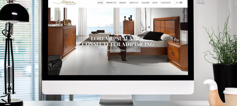 Уеб сайт за мебели Сирена интериор