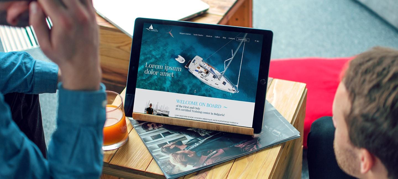 Уеб сайт за Sailing.bg