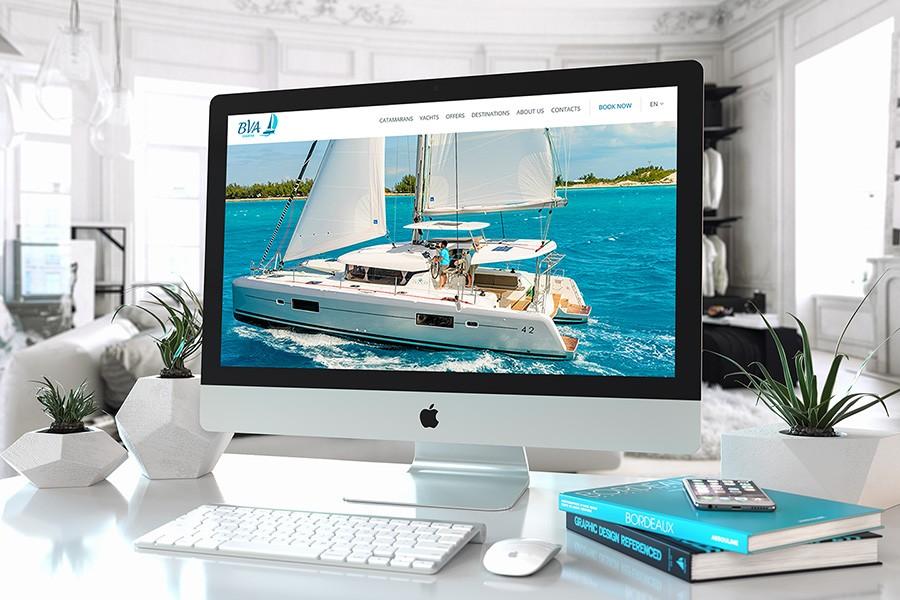 Уеб сайт за BVA Charter