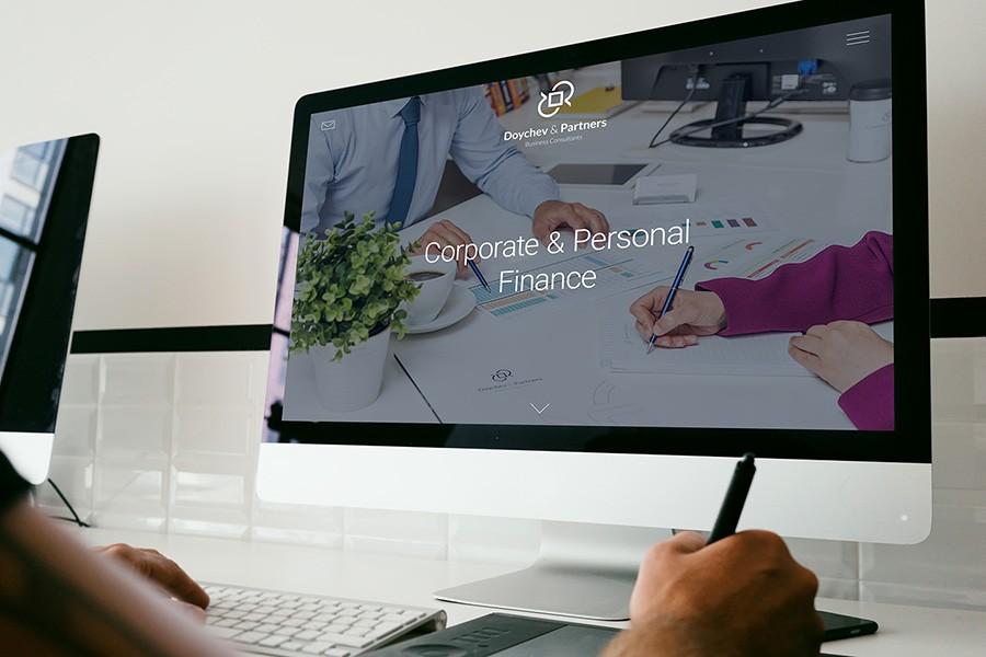 Уеб сайт на Дойчев и партньори