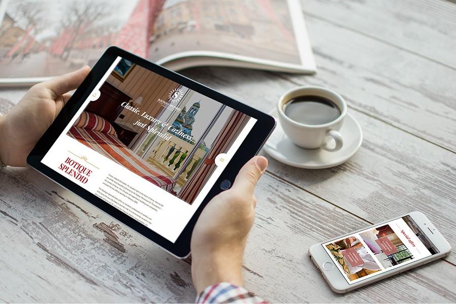 Уеб сайт за хотел Бутик Сплендид