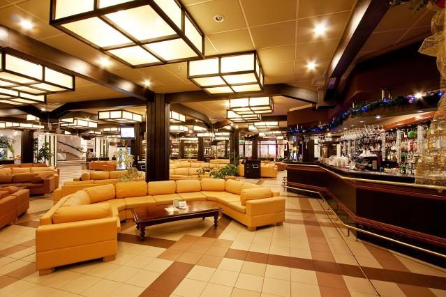 Интериорна фотография на хотел Рила