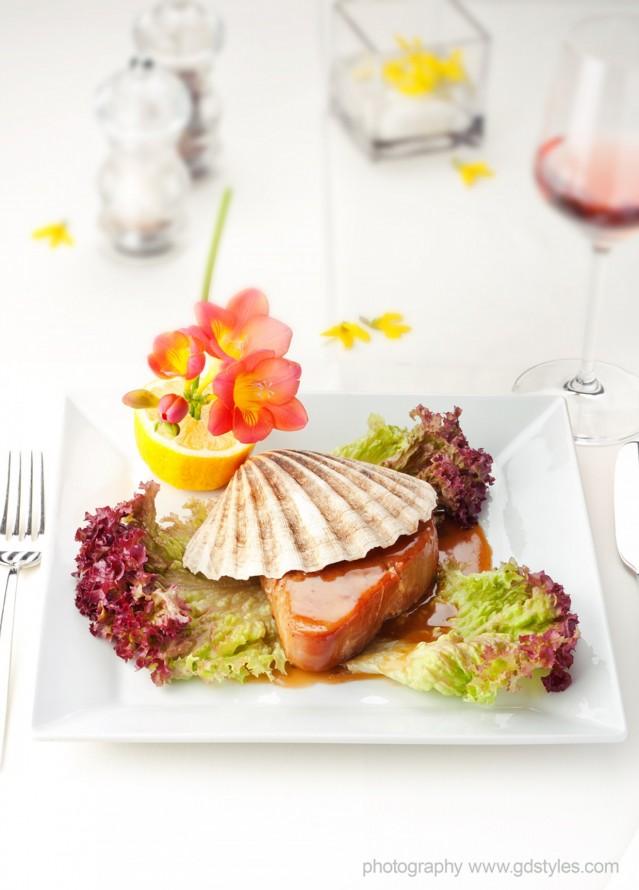 Кулинарна фотография за меню на ресторант Ниагара