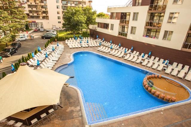 Интериорна фотография на хотел Лагуна парк