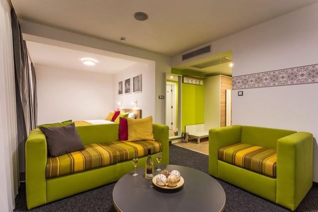 Интериорна фотография на хотел Комплимент
