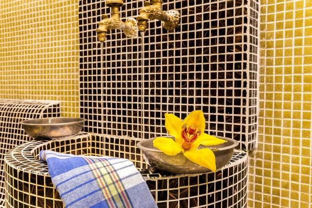 Интериорна фотография на обновения хотел Рила