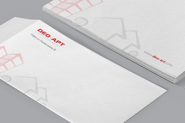 Корпоративна идентичност на Део Арт