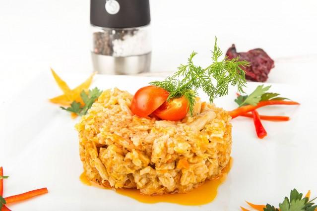 Вегетариански ястия в ресторант Ниагара