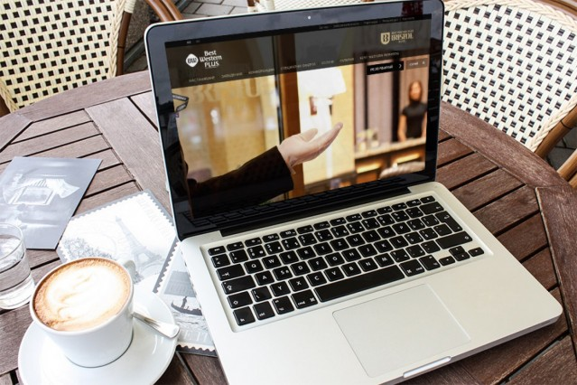 Уеб сайт на Бест Уестърн Бристол хотел