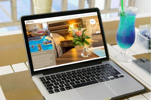 "Изработка на уеб сайт за хотел Лагуна парк <a href=""http://www.lagunapark-bg.com"">link text</a>"