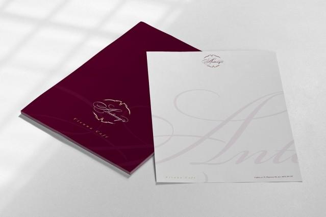 Корпоративна идентичност на виенски салон Антънис