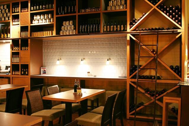 Интериорна фотография на ресторант Спагети къмпани