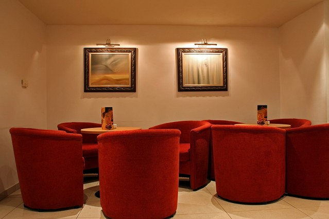 Интериорна фотография на хотел Триада