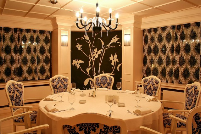 Интериорна фотография на ресторант Талисман
