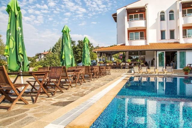 Интериорна фотография на хотел Св.Константин
